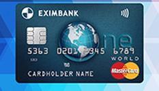 Mở thẻ Eximbank One World MasterCard , nhận ngay quà tặng