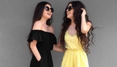 Chị em song sinh mặt xinh, dáng chuẩn nổi tiếng trên mạng xã hội