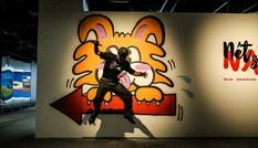 Giới trẻ 'sốt' vì tranh 'siêu thực' của họa sĩ đương đại Nhật Bản Naze tại VCCA