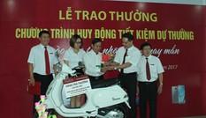 Agribank Đắk Lắk trao thưởng chương trình huy động tiết kiệm
