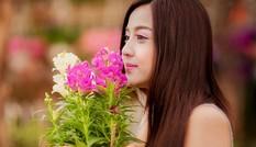 Hot girl Gia Lai hóa cô gái làm vườn đón Tết