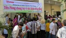Báo Tiền Phong về với dân nghèo miền Tây