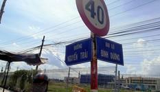 Tên đường, tên địa danh sai chính tả tồn tại nhiều năm