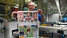 Báo giới ngợi ca tuyển Đức, ngạc nhiên sự vinh danh Messi