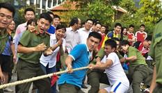 Đoàn Thanh niên các đơn vị thuộc Tổng Cục Chính trị CAND tranh tài thể thao