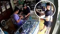 Tên trộm iPhone 6S Plus ở Hà Nội đến công an trình diện