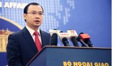 Việt Nam kiên quyết phản đối Đài Loan xây dựng trên đảo Ba Bình