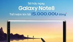 Đặt mua Galaxy Note 8 tại MobiFone, nhận quà hấp dẫn