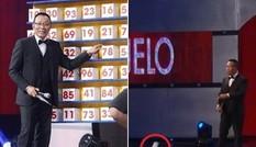 MC Lại Văn Sâm có hành động lạ trên sóng truyền hình