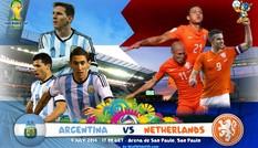 3h ngày 10/7: Argentina - Hà Lan, khoảnh khắc sinh tồn