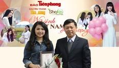 Lê Thị Thu Hiền là nữ sinh Việt Nam Ấn tượng tháng 11