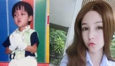Từ cậu bé đen đúa trở thành hot girl nổi tiếng tại Thái Lan