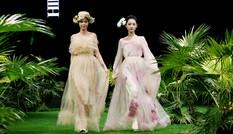 Vietnam Fashion Week: Xanh mướt xuân hè châu Á nhiệt đới mới