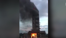 Cháy khách sạn ở Bình Thuận, du khách nhảy lầu