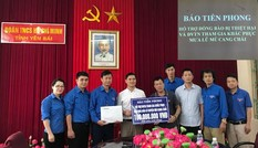 Báo Tiền Phong hỗ trợ cán bộ Đoàn và thanh niên tình nguyện Mù Cang Chải