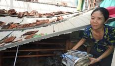 Xót xa hình ảnh trường học Quảng Bình tan hoang sau bão