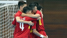 Tuyển Việt Nam hạ Turkmenistan, vào tứ kết futsal AIMAG