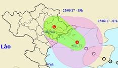 Áp thấp nhiệt đới đổ bộ Quảng Ninh-Hải Phòng