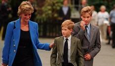 Williams không gặp mẹ một tháng trước khi Công nương Diana qua đời