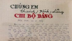 Bút tích nhà văn - liệt sĩ Xuân Quý tại ngôi trường 100 tuổi