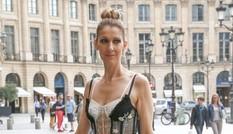 Celine Dion sành điệu với váy lấy cảm hứng từ nội y
