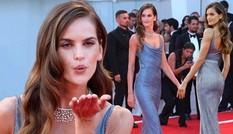 Mỹ nhân Brazil khoe đường cong tuyệt đẹp trên thảm đỏ LHP Venice