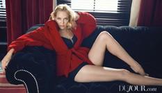 'Đả nữ' Uma Thurman sắc vóc gợi cảm đầy mê hoặc