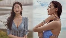 Vẻ trong veo, gợi cảm của cựu Hoa hậu Hàn Quốc Kim Sarang