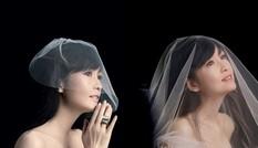 Châu Huệ Mẫn 50 tuổi vẫn tự tin diện váy cô dâu