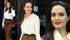 Angelina Jolie thanh lịch quyến rũ hút hồn