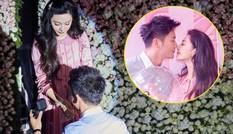 Phạm Băng Băng xúc động nghẹn ngào khi bạn trai Lý Thần cầu hôn
