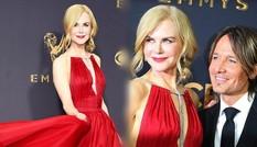 Nicole Kidman rực rỡ, quyến rũ tình tứ bên chồng trên thảm đỏ Emmy