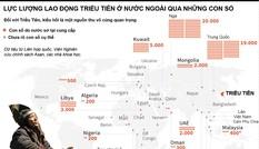 [ĐỒ HỌA] Lực lượng lao động Triều Tiên ở nước ngoài qua những con số