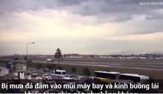 Hàng trăm hành khách được cứu bởi phi công 'mù'