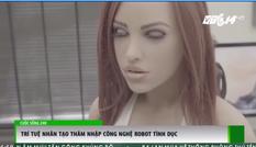 Trí tuệ nhân tạo xuất hiện trong công nghệ robot tình yêu