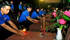 Thái Nguyên Thắp nến tri ân các anh hùng liệt sỹ