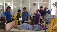 T.Ư Đoàn thăm hỏi, động viên gia đình bị thiệt hại do sạt lở đất ở Yên Bái