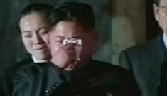 Đại tướng Kim Jong Un khóc cha