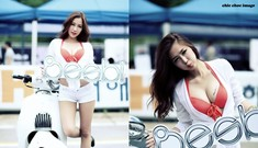 Nhan sắc nóng bỏng trên trường đua Hàn
