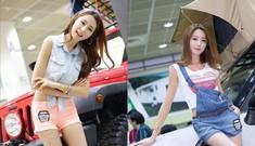 Mỹ nhân Hàn khoe sắc tại Autocamping Show 2013