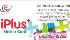 Thẻ tiếng Anh siêu tiện ích: 'iPlus Card' – 300 đồng/24 giờ học