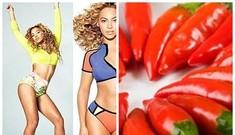 Beyonce chia sẻ bí quyết giảm béo bằng ớt