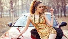 Sắc vàng quyến rũ bên xế hộp BMW