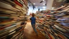 Mê cung được tạo bởi hơn 200 nghìn cuốn sách