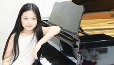 Cô bé piano