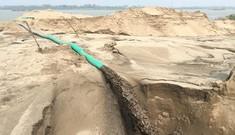 'Sa mạc' cát bủa vây đê sông Hồng: Biểu hiện lợi ích nhóm