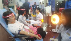 Ngày hội hiến máu trên đất Tổ