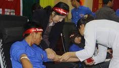 Chủ Nhật Đỏ tại Hà Tĩnh thu được 413 đơn vị máu, vượt chỉ tiêu