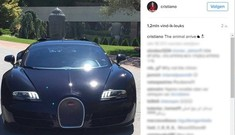 Mừng vô địch EURO, Ronaldo tự thưởng siêu xe Bugatti