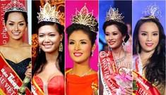Phút đăng quang của các Hoa hậu Việt Nam